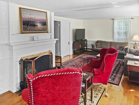 Perfect setting to read a mystery or have a private conversation  - 98 West Road Orleans Cape Cod New England Vacation Rentals