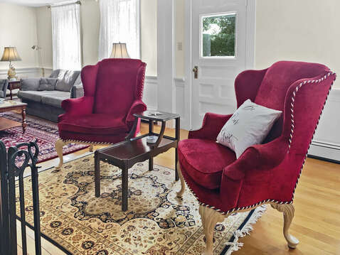 Reading chairs - 98 West Road Orleans Cape Cod New England Vacation Rentals