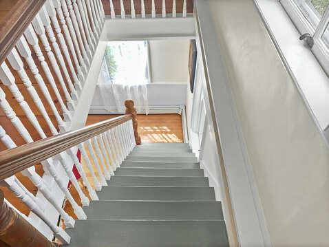 View from second floor landing - 98 West Road Orleans Cape Cod New England Vacation Rentals