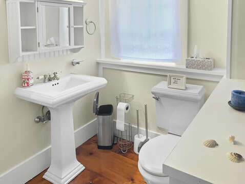 Space to get ready - privacy for those in tub - 98 West Road Orleans Cape Cod New England Vacation Rentals