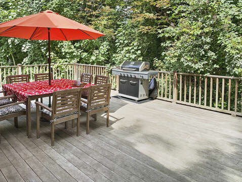 Private outdoor space for family get togethers! - 98 West Road Orleans Cape Cod New England Vacation Rentals