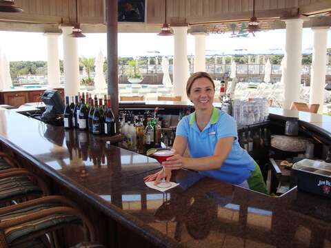 Enjoy your favorite libation at the Wequassett beach bar! Just a few miles down the road - Cape Cod New England Vacation Rentals