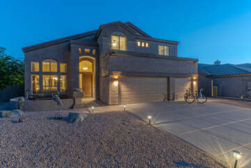 Our fabulous two story home in East Mesa could be the perfect home away from home for your vacation or staycation.