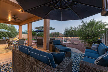 Close your eyes and wish to be relaxing here with your favorite adult beverage in hand.