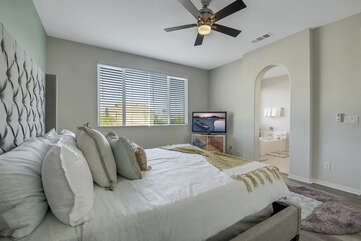 You will never want to leave this room!