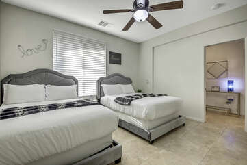 High-quality linens are used on all our beds!