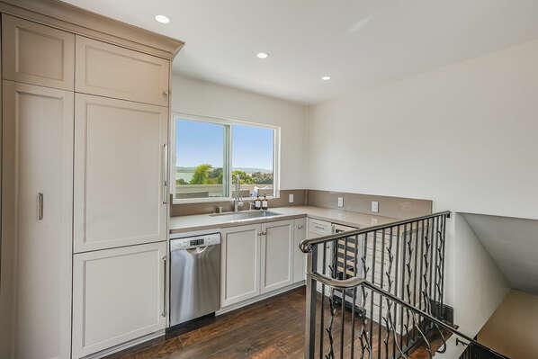 Kitchen on 3rd Floor w/ Pass-Through Window