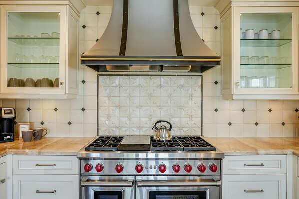 Main Kitchen w/ High-End Wolf Appliances - 2nd Floor
