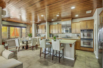 You'll never miss a moment with this open floor plan.