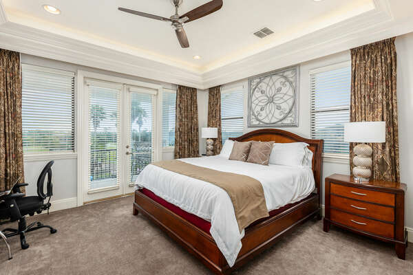 Sleep into one of our king-size bedrooms.