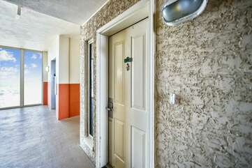 Front door to the unit, close to the elevators.