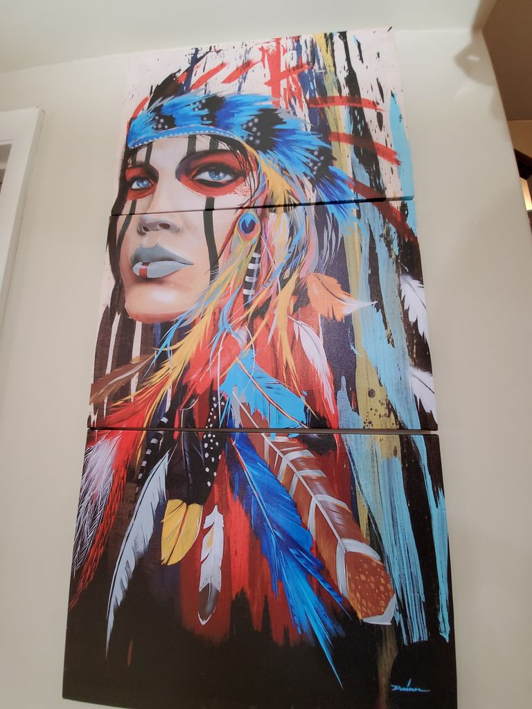 The woman chief